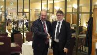 Συνάντηση Υφυπουργού Πολιτισμού και Τουρισμού με τον Ούγγρο ομόλογό του