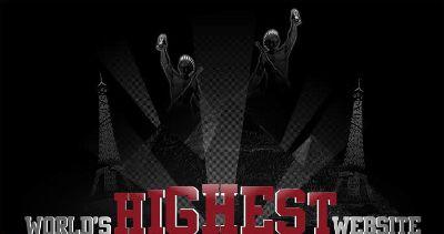 worlds highest website